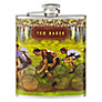 Ted Baker Cycling Hip Flask, 170ml