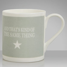 Buy Green & Co. Cake Mug Online at johnlewis.com