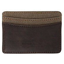 Buy Jacob Jones Card Holder, Khaki Online at johnlewis.com