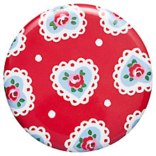 Buy Cath Kidston Sweetheart Rose Pocket Mirror, Dia.7cm Online at johnlewis.com