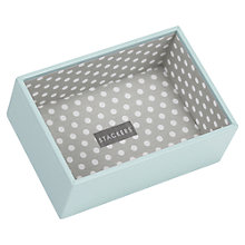 Buy Stackers Mini Jewellery Deep Tray, Duck Egg Online at johnlewis.com