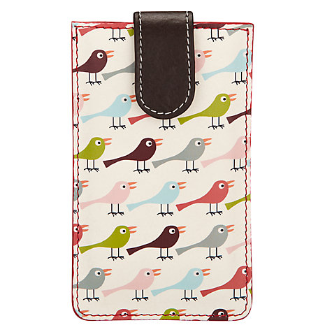 Buy Nicky James Birds iPhone Sleeve Online at johnlewis.com