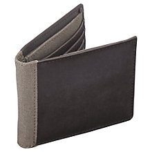 Buy Jacob Jones Wallet, Khaki Online at johnlewis.com