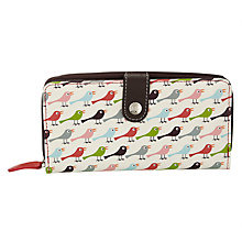Buy Nicky James Birds Zip Around Purse Online at johnlewis.com
