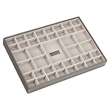 Buy Stackers Large 41-Section Jewellery Box, Mink Online at johnlewis.com