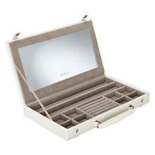 Buy LC Designs Pretty Case Jewellery Box, Cream Online at johnlewis.com