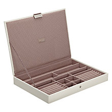 Buy Stackers Large Jewellery Lid, Vanilla Online at johnlewis.com