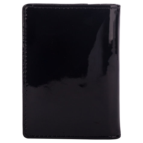 Buy Smith & Canova Leather Change Purse, Patent Black Online at johnlewis.com
