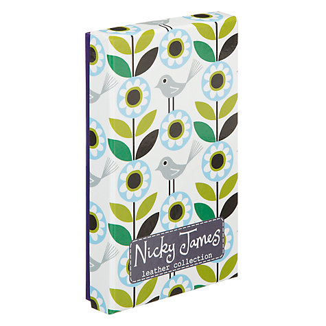 Buy Nicky James Bloom iPhone Sleeve, Green Online at johnlewis.com
