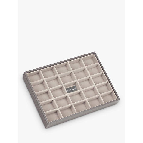 Buy stackers jewellery 25 section tray mink john lewis for Stackers jewelry box canada