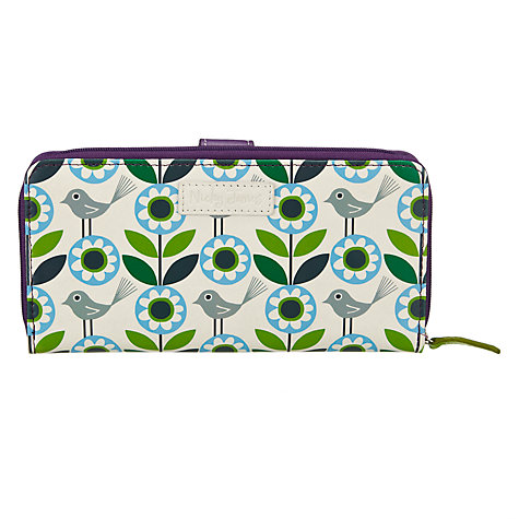 Buy Nicky James Bloom Zip Around Purse, Green Online at johnlewis.com