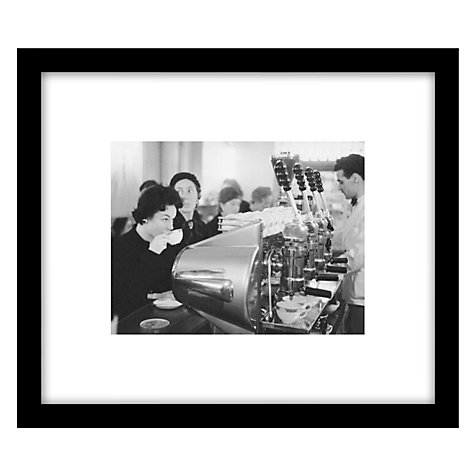 Buy Getty Images Gallery Coffee Bar Framed Print, 49 x 57cm Online at johnlewis.com