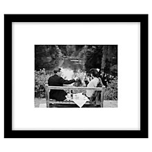 Buy Getty Images Gallery Champagne Picnic Framed Print, 49 x 57cm Online at johnlewis.com