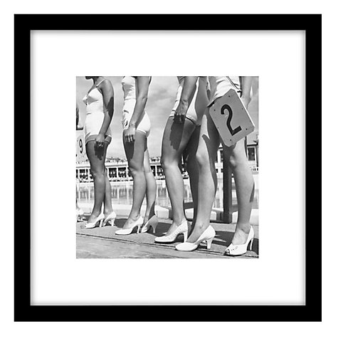 Buy Getty Images Gallery Blackpool Beauties Framed Print, 59 x 59cm Online at johnlewis.com