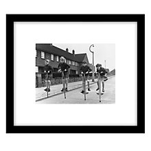 Buy Getty Images Gallery Pogo Quads Framed Print, 49 x 57cm Online at johnlewis.com