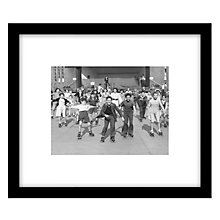 Buy Getty Images Gallery Happy Skaters Framed Print, 49 x 57cm Online at johnlewis.com