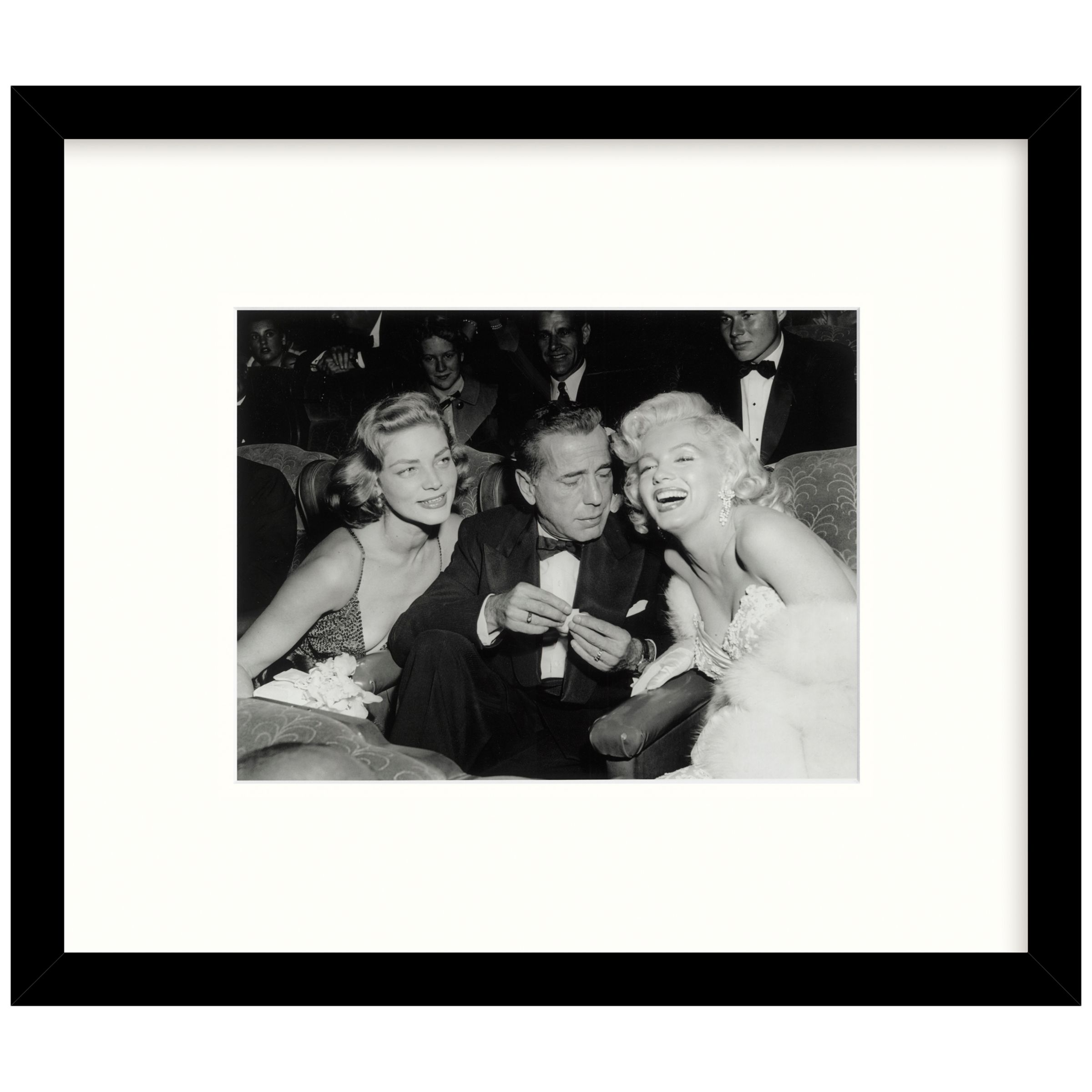 Getty Images Gallery Getty Images Gallery Star Trio Framed Print, 49 x 57cm