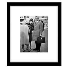 Buy Getty Images Gallery Woman Of Straw Framed Print, 57 x 49cm Online at johnlewis.com