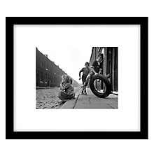 Buy Getty Images Gallery Salford Street Fun Framed Print, 49 x 57cm Online at johnlewis.com