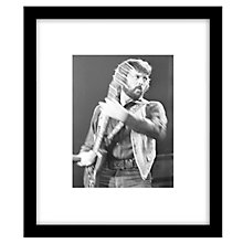 Buy Getty Images Gallery Clapton Performs Framed Print, 57 x 49cm Online at johnlewis.com