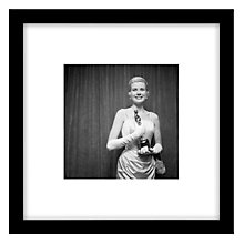 Buy Getty Images Gallery Grace Kelly Framed Print, 49 x 49cm Online at johnlewis.com