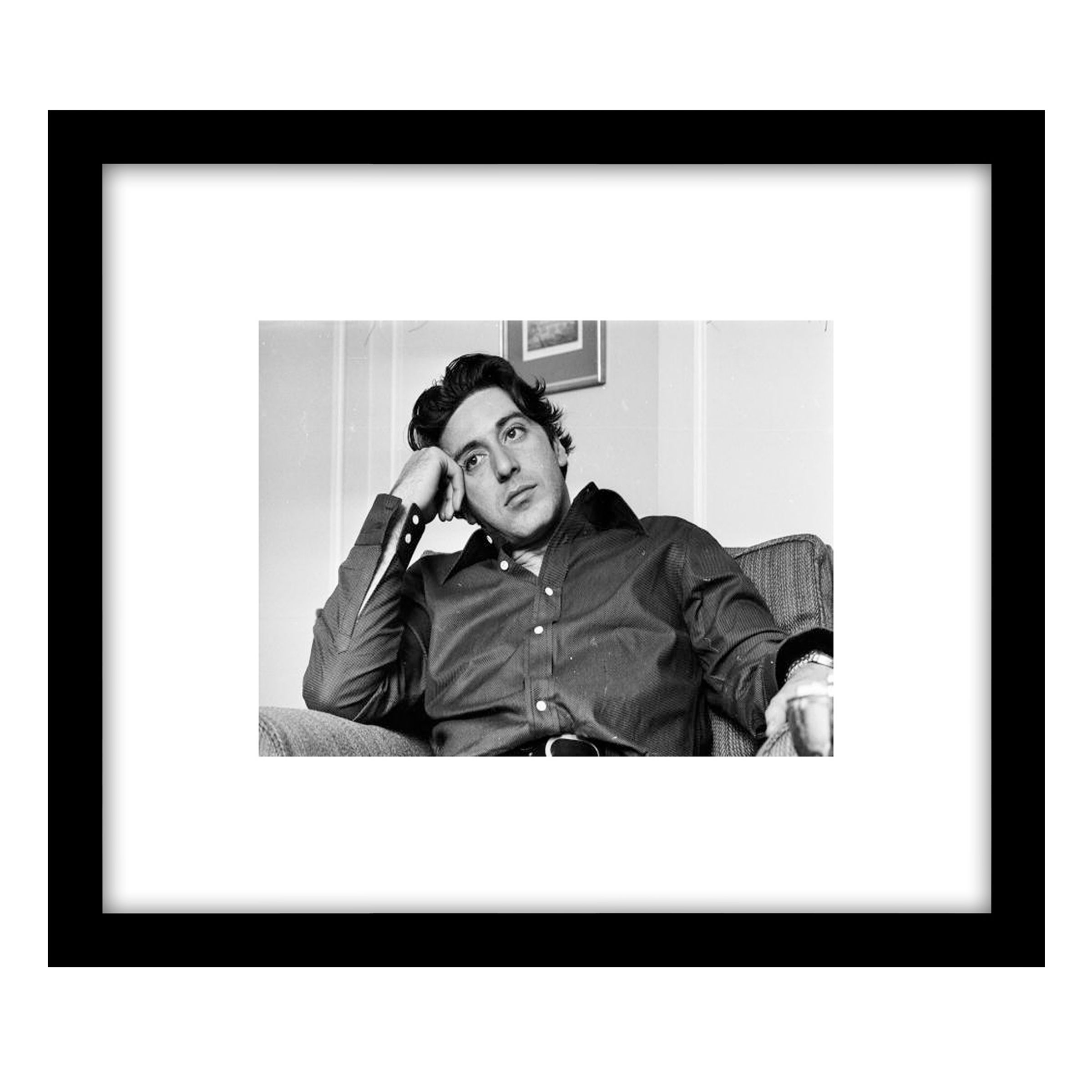 Getty Images Gallery Getty Images Gallery Al Pacino Framed Print, 49 x 57cm