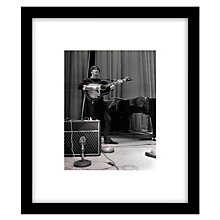 Buy Getty Images Gallery John Lennon Framed Print, 57 x 49cm Online at johnlewis.com