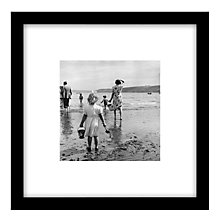 Buy Getty Images Gallery Scarborough Beach Framed Print, 49 x 49cm Online at johnlewis.com