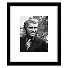 Buy Getty Images Gallery Steve McQueen Framed Print, 57 x 49cm Online at johnlewis.com