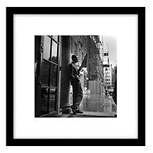 Buy Getty Images Gallery Cary Grant In The Rain Framed Print, 59 x 59cm Online at johnlewis.com