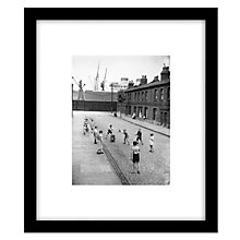 Buy Getty Images Gallery Street Cricket Framed Print, 49 x 49cm Online at johnlewis.com