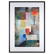 Buy Paul Klee - Fir Trees Framed Print, 82 x 57cm Online at johnlewis.com