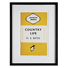Buy Penguin Classics - Country Life by H. E. Bates Framed Print, 42 x 32cm Online at johnlewis.com