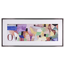 Buy Paul Klee - O 1915 Framed Print, 46 x 100cm Online at johnlewis.com