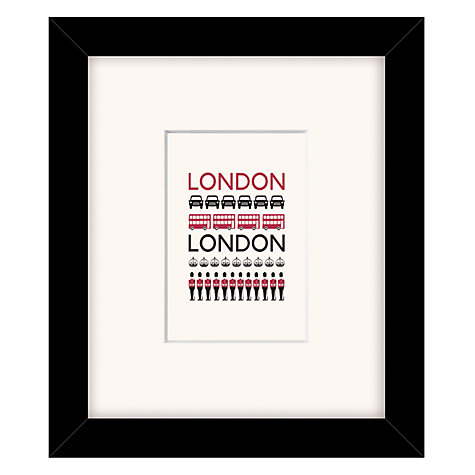 Buy East of India London Framed Print, 23 x 27cm Online at johnlewis.com