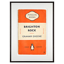 Buy Penguin Classics - Brighton Rock by Graham Greene Framed Print, 72 x 52cm Online at johnlewis.com
