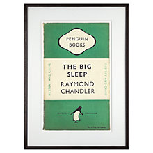 Buy Penguin Classics - The Big Sleep by Raymond Chandler Framed Print, 72 x 52cm Online at johnlewis.com