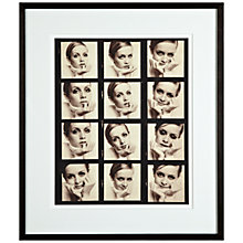 Buy Trunk Archive, Ronald Traeger - Twiggy February 1967 Framed Print, 62 x 52cm Online at johnlewis.com