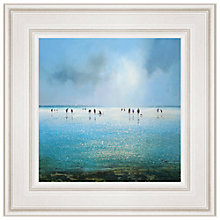 Buy Michael Sanders - a Day at the Beach Framed Print, 55 x 55cm Online at johnlewis.com