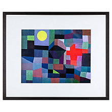 Buy Paul Klee - Fire at Full Moon Framed Print, 42 x 52cm Online at johnlewis.com