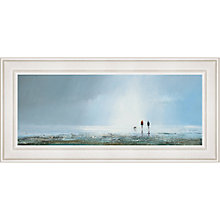 Buy Michael Sanders - Passing Storm Framed Print, 115 x 55cm Online at johnlewis.com