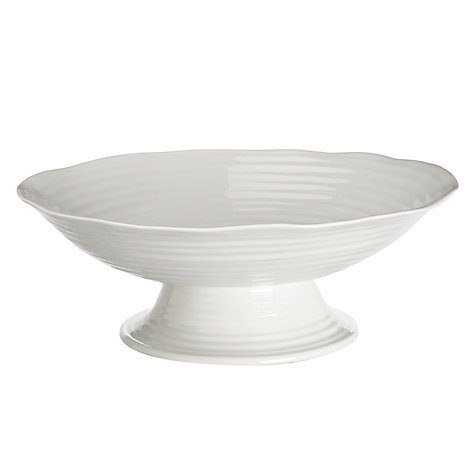 Buy Sophie Conran for Portmeirion Large Footed Comport, White Online at johnlewis.com