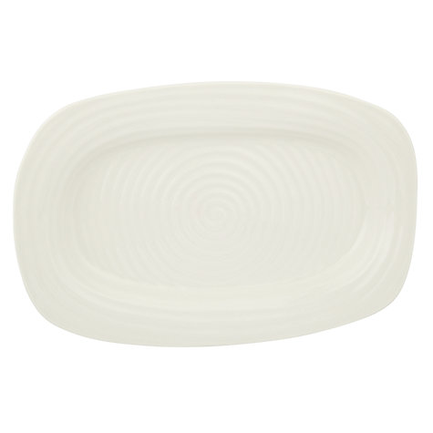 Buy Sophie Conran for Portmeirion Sandwich Tray, L35 x W23cm, White Online at johnlewis.com