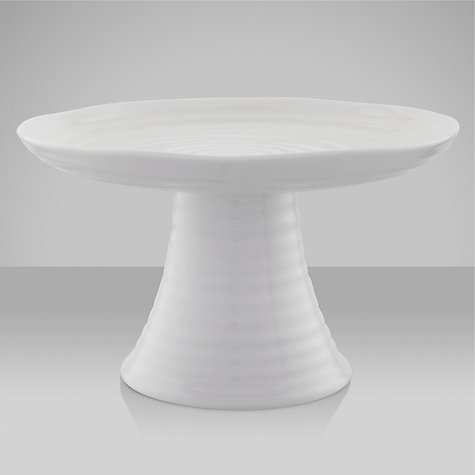 Buy Sophie Conran for Portmeirion Mini Cake Stand, Dia.16.5cm, White Online at johnlewis.com
