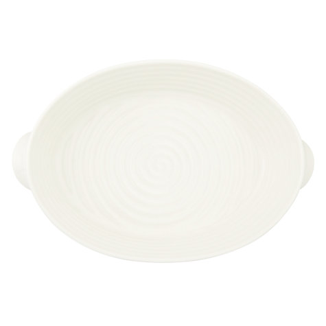 Buy Sophie Conran for Portmeirion Oval Roasting Dish, White Online at johnlewis.com