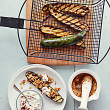 Buy Courgettes, Goats' Curd, Dukka & Sumac by Ben Tish Online at johnlewis.com