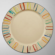 Buy Da Terra Multicolour Dinner Plate Online at johnlewis.com