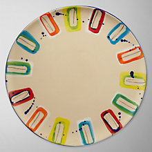 Buy Da Terra Multicolour Side Plate Online at johnlewis.com