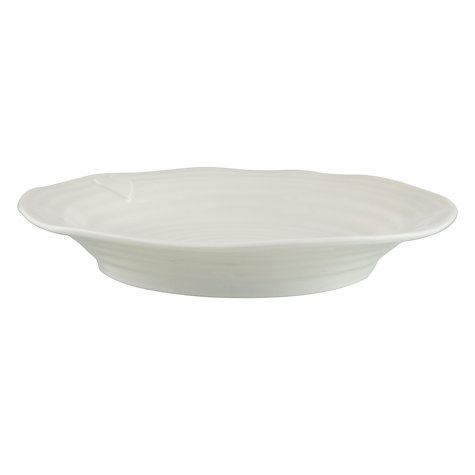 Buy Sophie Conran for Portmeirion Heart Plate, White Online at johnlewis.com