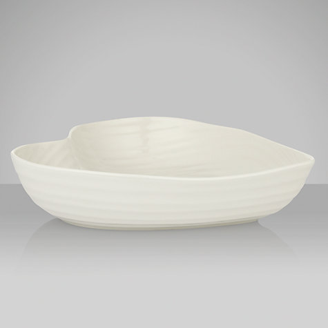 Buy Sophie Conran for Portmeirion Heart Bowl, W25cm, White Online at johnlewis.com
